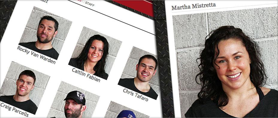 Staff Portraits