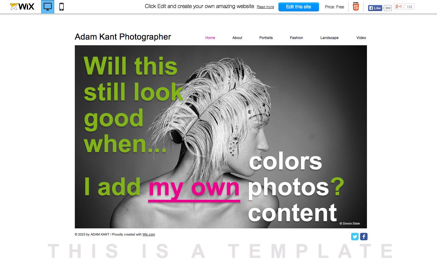 Web Designer Versus Template - Green Ball Media